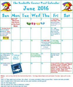 June 2016 Calendar