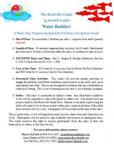 Water Buddies Flier II